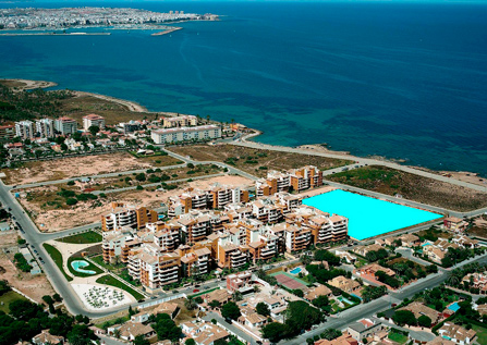 Apartment of new construction in Punta Prima, Torrevieja