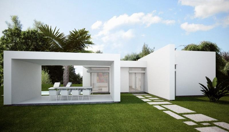 Villa in Calpe front