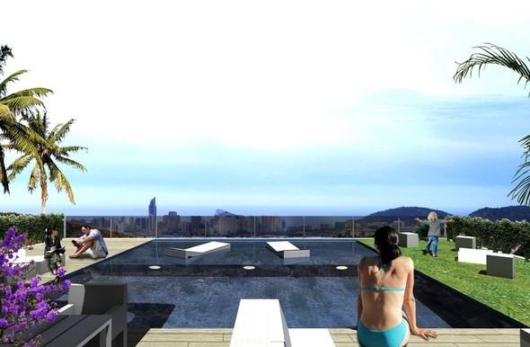 Chalet  en Benidorm   piscina 2