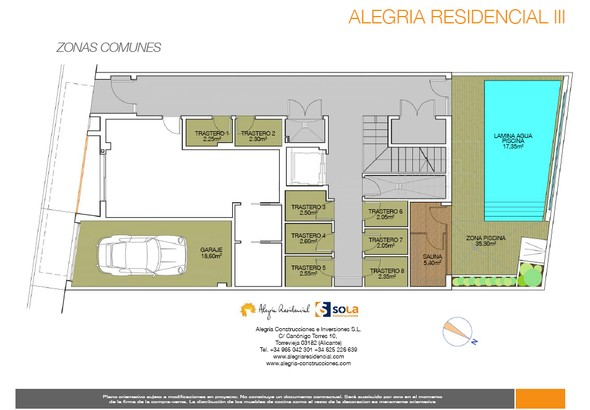 Apartamentos Torrevieja Alegría III plano