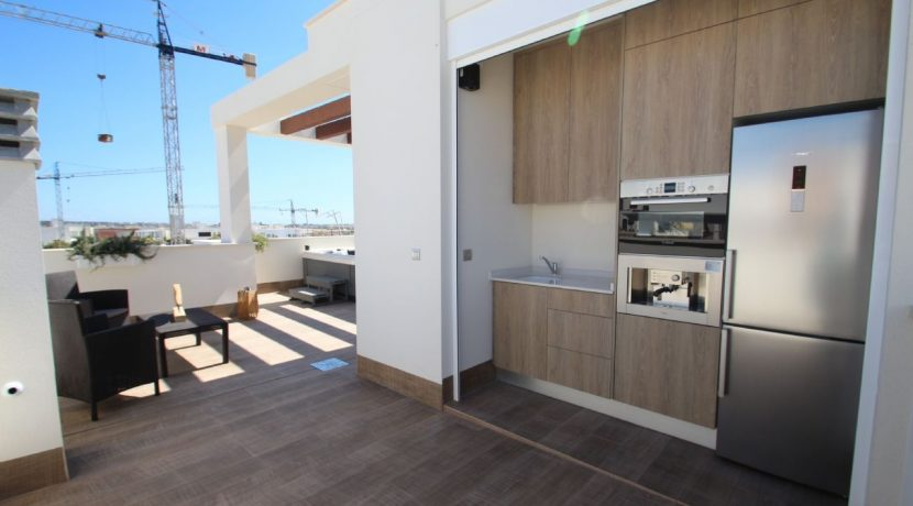 Villa La Laguna cocina terraza