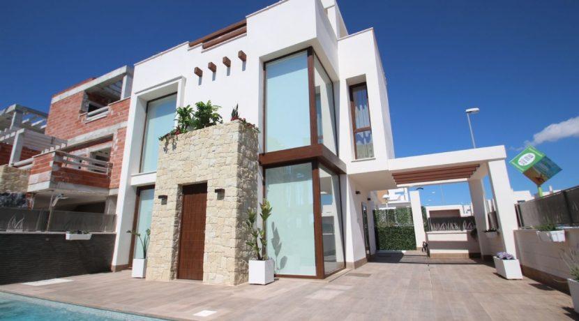 Villa La Laguna fachada