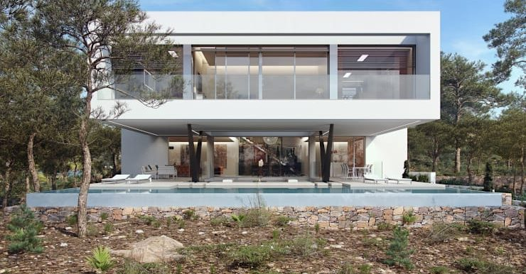 Villa Olivo fachada 2