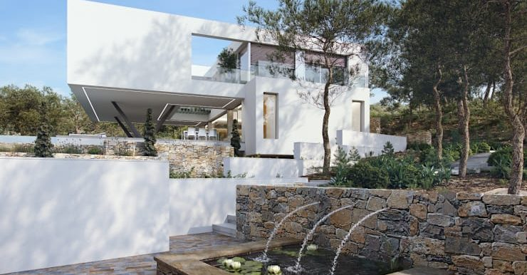 Villa Olivo fachada 4