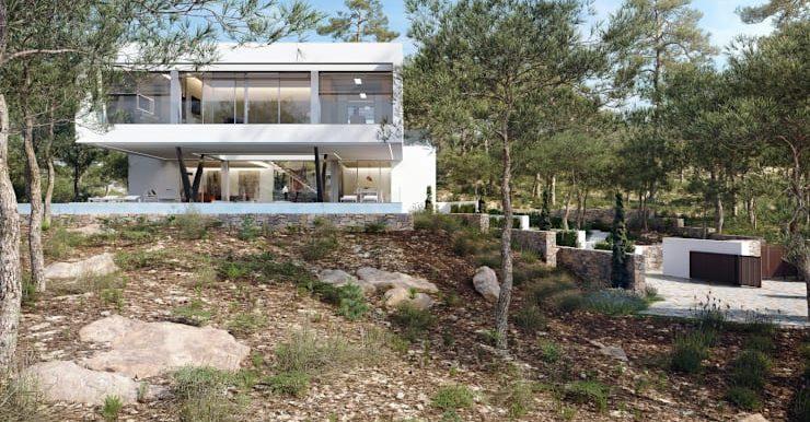 Villa Olivo fachada 6