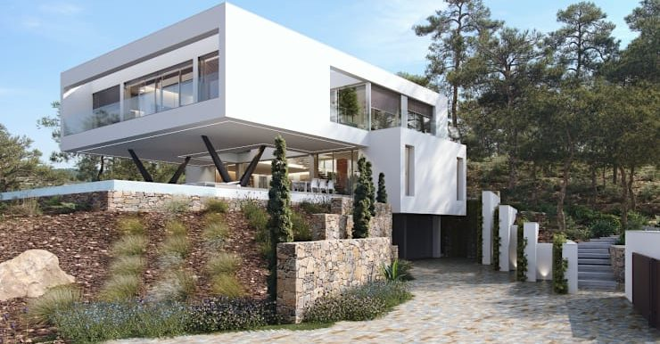 Villa Olivo fachada 7