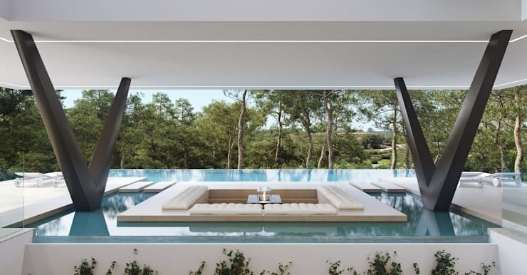 Villa Olivo piscina 3