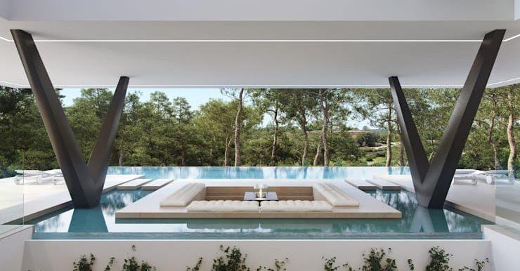 Villa Olivo piscina 4