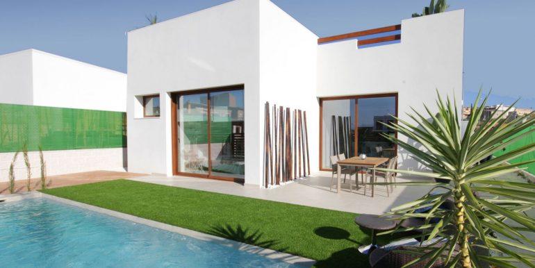 Villa Veleta Benijofar Fachada piscina