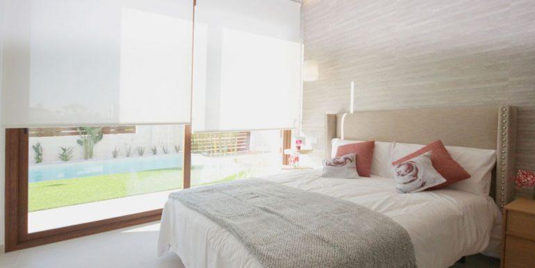 Villa Veleta Benijofar dormitorio