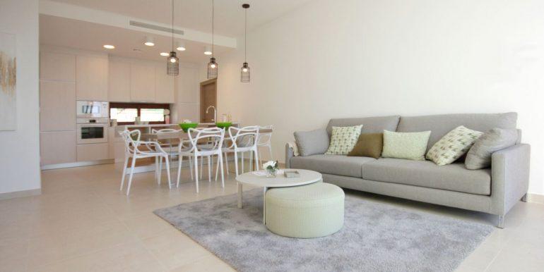 Villa Veleta Benijofar salon y cocina