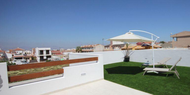 Villa Veleta Benijofar terraza cocina