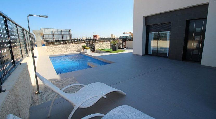 Natura Park Rojales terraza piscina