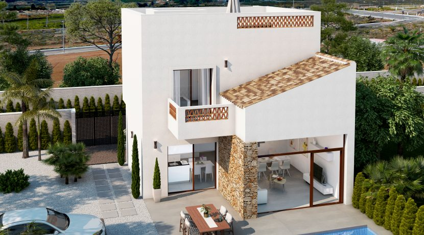 Villa Biseri Benijófar