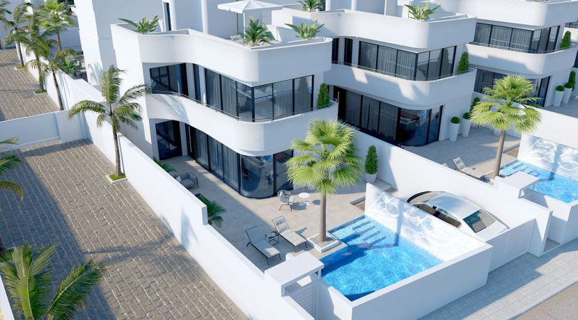 Villa Nimbus en La Marina cenital