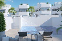 Villa Nimbus en La Marina comunidad piscina